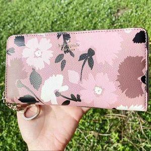 NWT🌸Kate Spade Neda Large Zip-Around Wallet